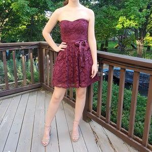 Strapless Dress Hoco Prom Sadie's